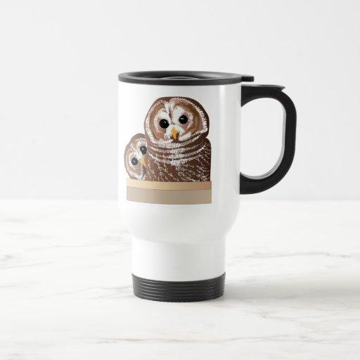 Barn Owls Coffee Mugs