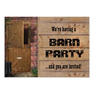 Barn Party Invitation