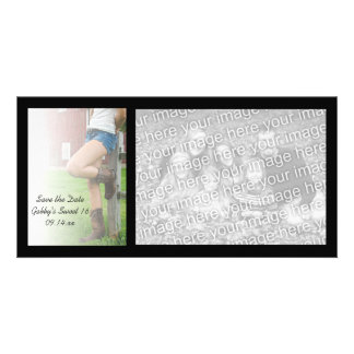 Barn Party Sweet 16 Save the Date Photo Card