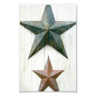 Barn Stars Photo Art