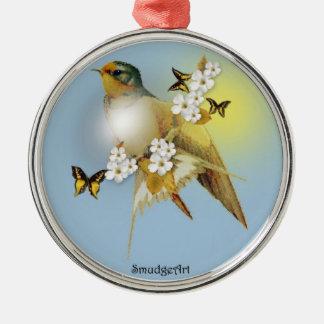 Barn Swallow Metal Ornament
