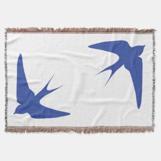 Barn Swallow Throw Blanket