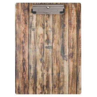 Barn wood boards texture clipboard