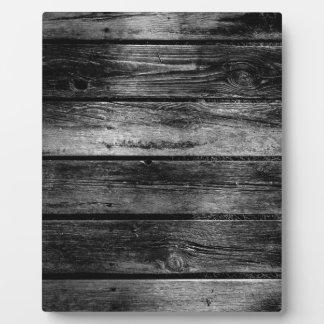 Barn Wood Display Plaques