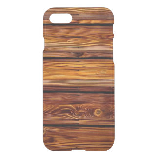 Barn Wood iPhone 7 Clear Case