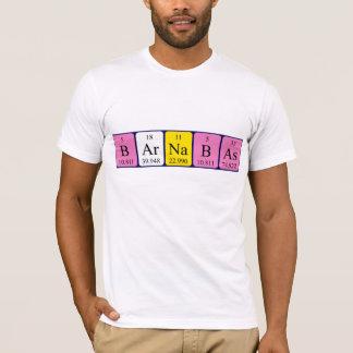 Barnabas periodic table name shirt