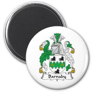 Barnaby Family Crest Magnet