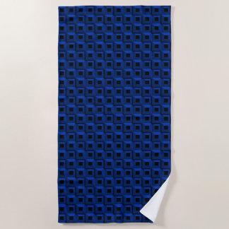 Barnacles in Blue Beach Towel