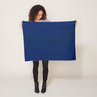 Barnacles in Blue Fleece Blanket