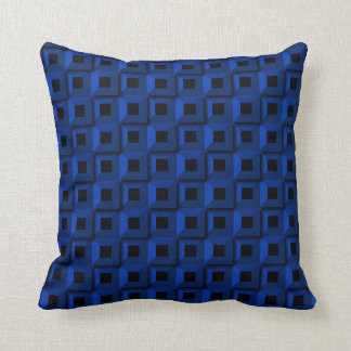 Barnacles in Blue Throw Pillow