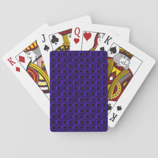 Barnacles in Dark Blue Playing Cards