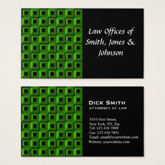 Barnacles in Green Business Card