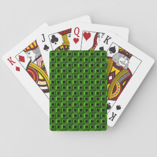 Barnacles in Green Playing Cards