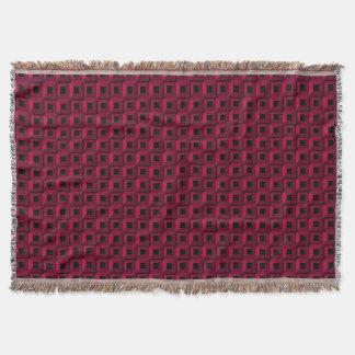 Barnacles in Pink Throw Blanket