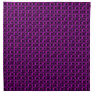 Barnacles in Purple Cloth Napkins