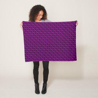 Barnacles in Purple Fleece Blanket