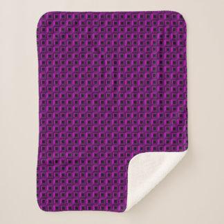 Barnacles in Purple Sherpa Blankets