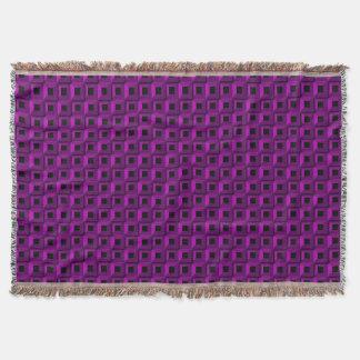 Barnacles in Purple Throw Blanket
