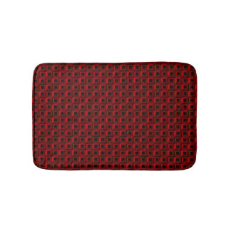 Barnacles in Red Bath Mat
