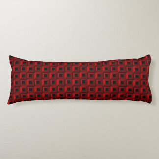 Barnacles in Red Body Pillow