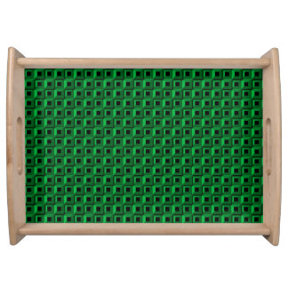 Barnacles in Teal Serving Tray