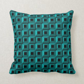 Barnacles in Turquois Throw Pillow