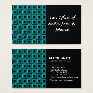 Barnacles in Turquoise Business Card