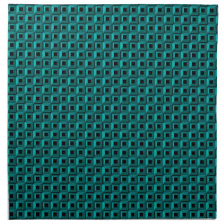 Barnacles in Turquoise Cloth Napkins