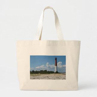 Barnegat Lighthouse Canvas Bags