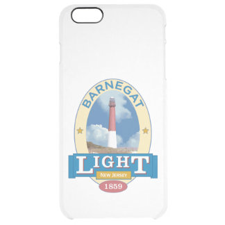Barnegat Lighthouse Clear iPhone 6 Plus Case