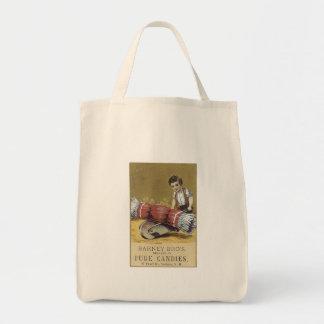 Barney Bros Fine Candies Canvas Bag