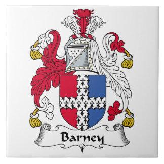 Barney Family Crest Tile