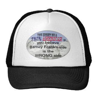barney franks side wrond mesh hat