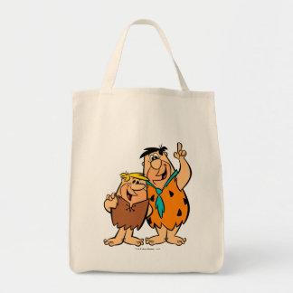 Barney Rubble and Fred Flintstone