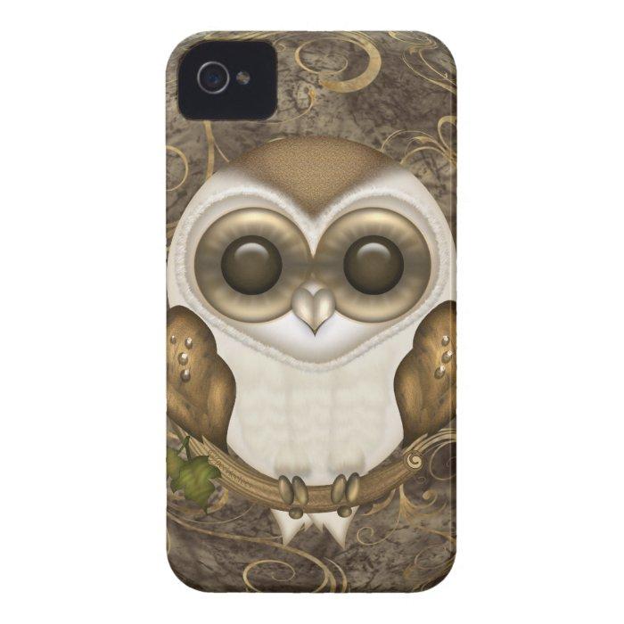 Barney The Barn Owl iPhone 4 Cases