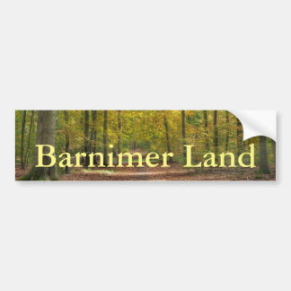 Barnimer Land Wald Bumper Sticker