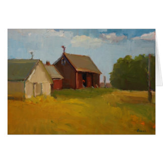 Barns on a Clear Day Card