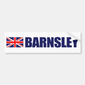 Barnsley, British Flag Bumper Sticker