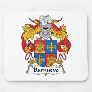 Barnuevo Family Crest Mouse Pad