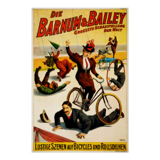 Barnum and Bailey,Circus Poster