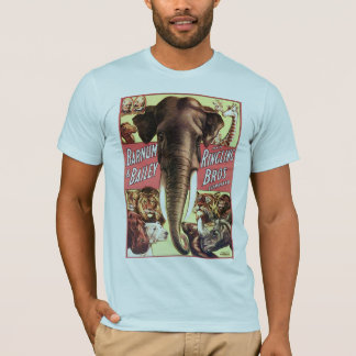 Barnum & Bailey and Ringling Bros Combined - Eleph T-Shirt