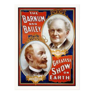 Barnum & Bailey Greatest Show on Earth Postcard