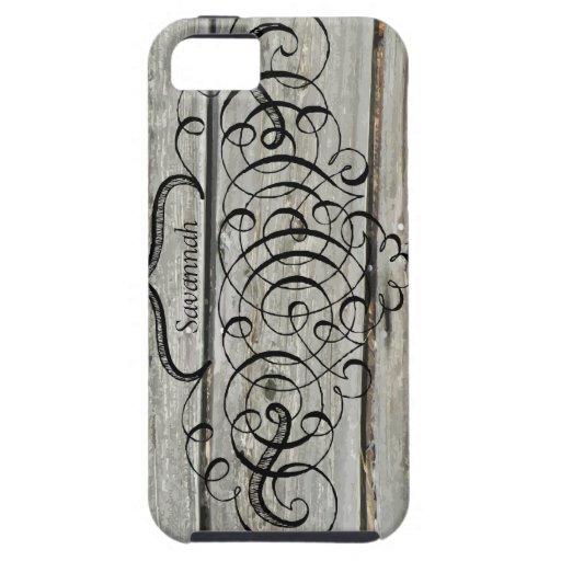 Barnwood iphone 5 case