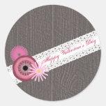 Barnwood & Lace Inspired Valentine's Sticker