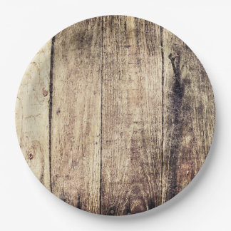 Barnwood Paper Plates 9 Inch Paper Plate