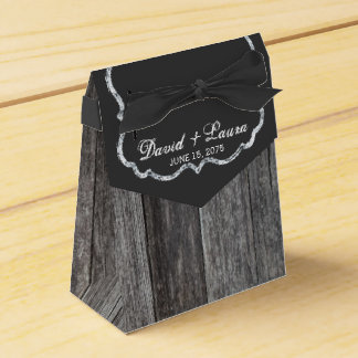 Barnwood Wedding Favour Boxes