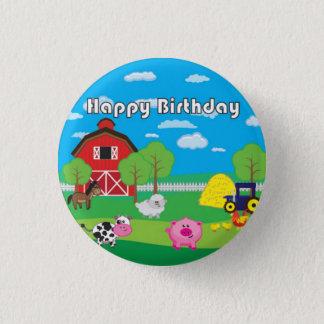 Barnyard Animal - Farm - Birthday Party - Badge