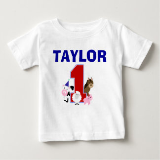 Barnyard First Birthday Shirt