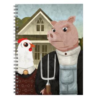 Barnyard Gothic Notebook