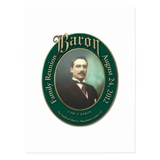 Baron Family Reunion 2012 Post Cards